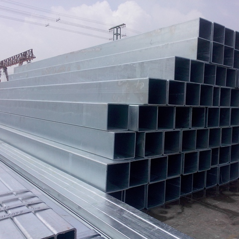 Q195/Q235/345 19mm*19mm pre-galvanized tube for frame