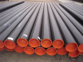 high quality black paintnig weld steel tube for gas line