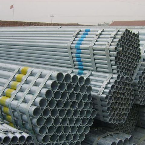 3 inch Class B galvanized tube according to BS/EN standard