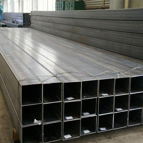 Hot Galvanized Hollow Section Rectgular Pipe 100 X 50 X