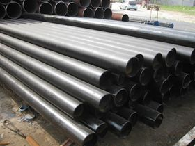 high quality black painting seamless steel pipe for oil line