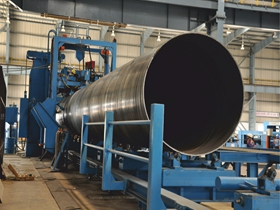 1.2 m Dia Spiral Welded Steel Tube For Hydropower Station