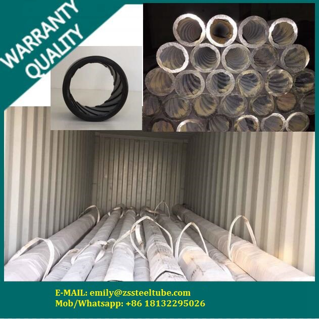 multi-lead rifled seamless steel tube for high-pressure boiler