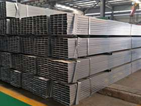 BS1387 Q195 pre-galvanized square and rectangular steel pipe