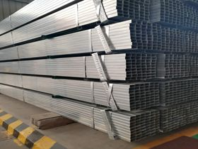 Q235 pre-galvanised squre steel tube for building construction