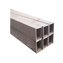 38*38 Hollow Section Pipe Black Square Steel Tubes