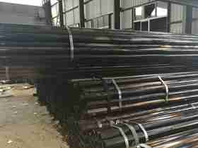 black welded ms pipe 75mm weight made in China