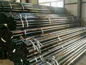 mild steel black round steel pipe in china