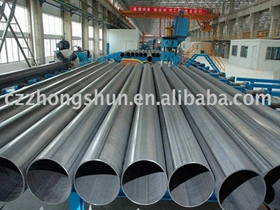 API 5L 4inch DN100 WT6mm ERW welded pipeline