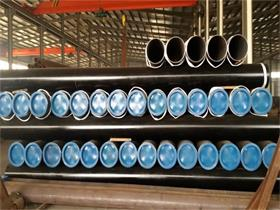 Sch40 ASTM A106 Hot Rolled Mild Steel Seamless Pipe
