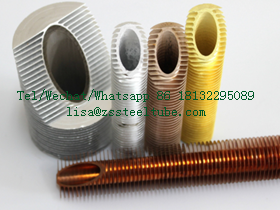 ASTM A249 TP 316 Finned Tube OD 25.4 MM X 1 MM X 12748 MM
