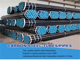 Low Carbon Mild Steel Black Seamless Pipes Tubes