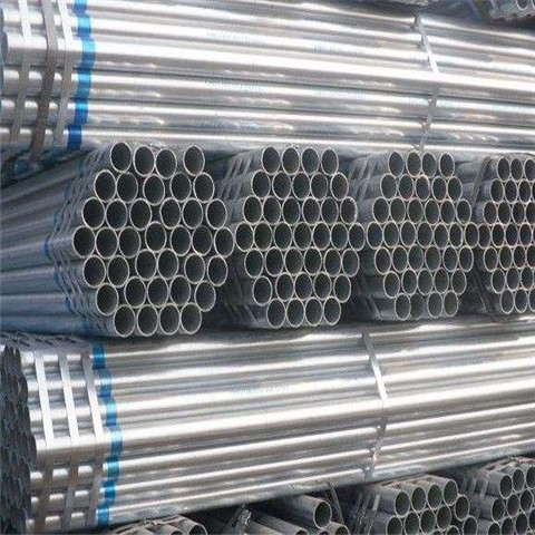 Hot dip galvanized pipe Threaded Both Ends  tubing suppliers