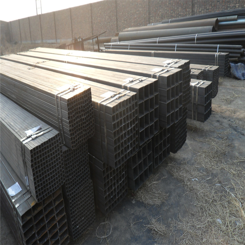 ASTM A120 ERW Ms Hot Rolled Galvanized Steel Square Tube