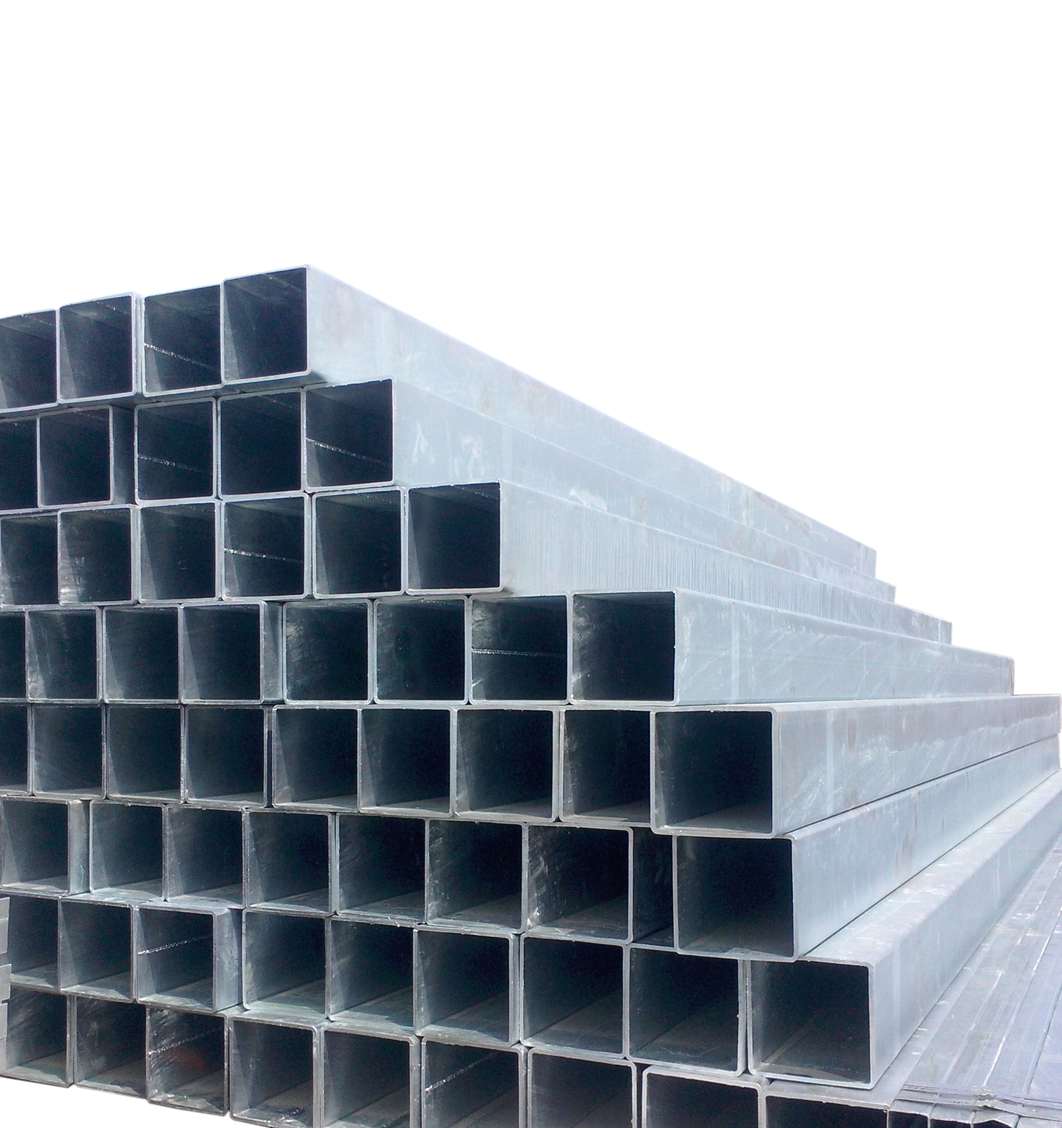 50*50mm square galvanized steel fence posts