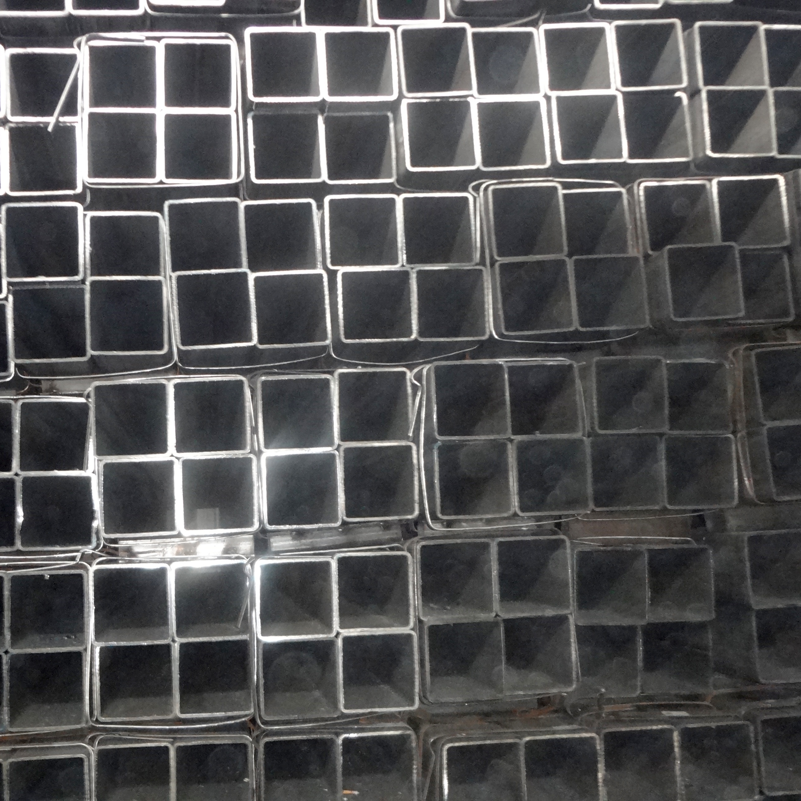 Q195 50*50mm Steel Square Tubing